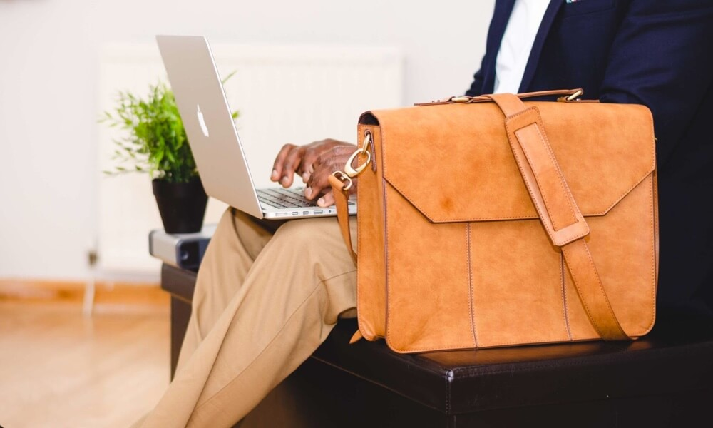 best leather laptop bags in India