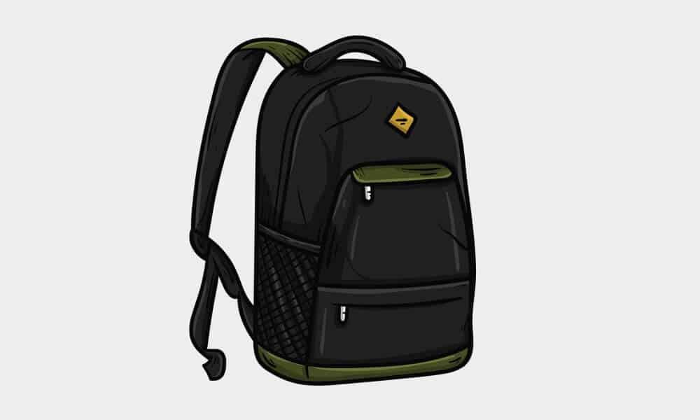 travel bag sketch image